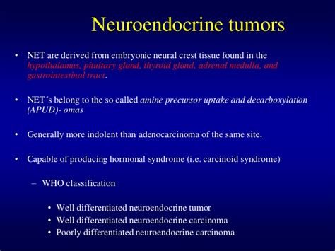 neuroendocrine tumor of gastrointestinal tract ppt. picture 5