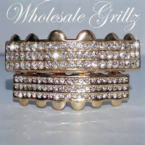 gold grilles and teeth wholesale picture 2