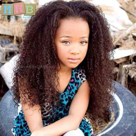 bi-racial straight hair picture 9