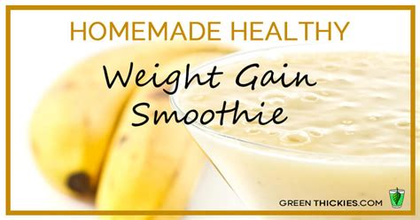 find smoothies recipes to gain weight picture 8