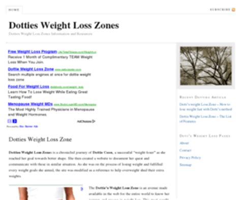dotty's weight loss zone picture 2