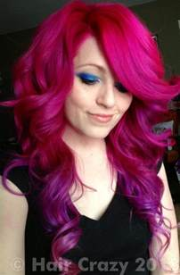 pink hair dye picture 3