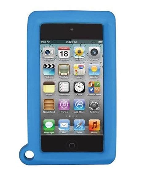 igg ipod touch tuchigrips - apple green picture 2