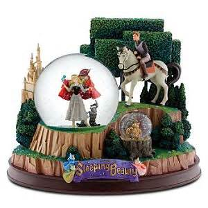 disney sleeping beauty hourgl snow globes picture 10