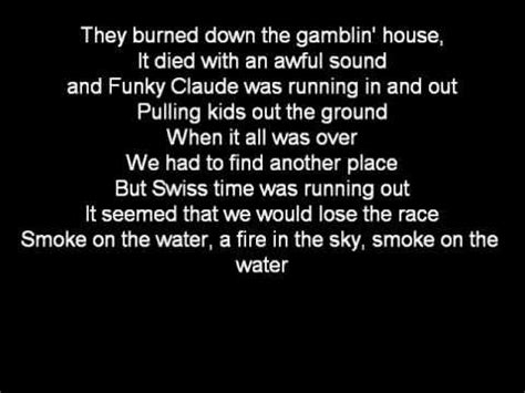 lyrics to smoke on the water picture 5