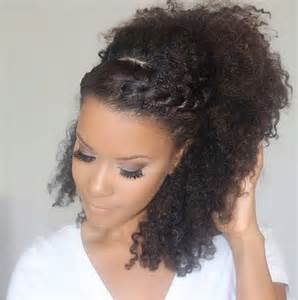 braids and curly buns hair style picture 6