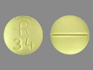 find sleeping pill yellow round picture 3