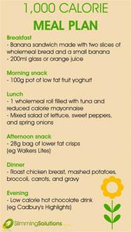 1000 calorie a day diet picture 2