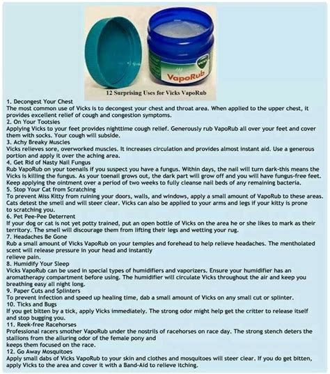 weight loss with vicks vapor rub picture 1