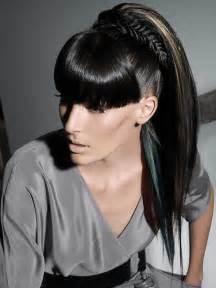 black hair ponytails picture 14