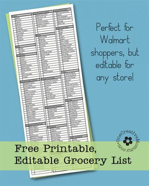 walmart $4 list 2015 printable picture 6