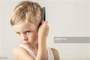 boy brushing hair picture 6