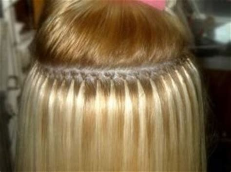 fused hair weaving picture 6