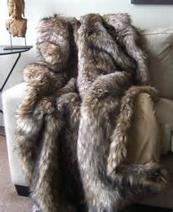 faux bear skin blanket picture 2