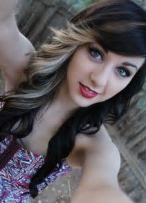 black hair with blonde streaks picture 15