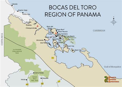 city map of isla colon panama picture 3