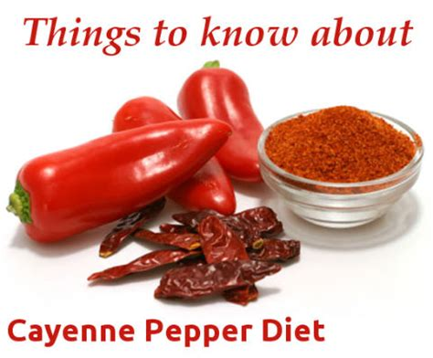 cayenne pepper and water diet picture 2
