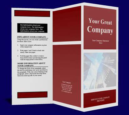 home based business creating brochures picture 1