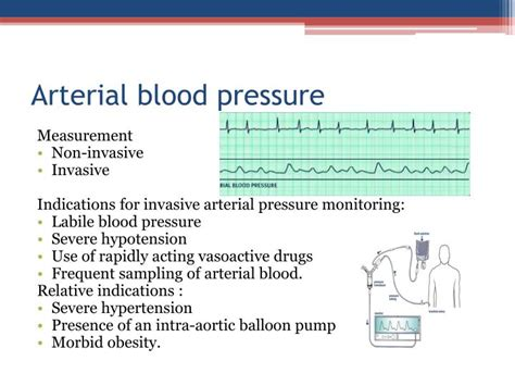 Arterial blood pressure picture 10