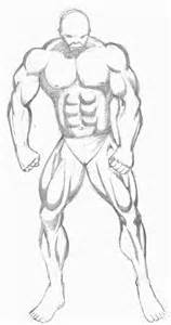 drawing of beach muscle man picture 17