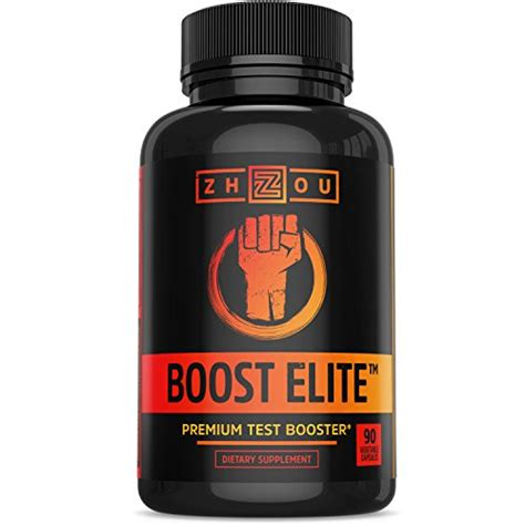 boost elite test booster formulated to increase t-levels, vitality & energy picture 1