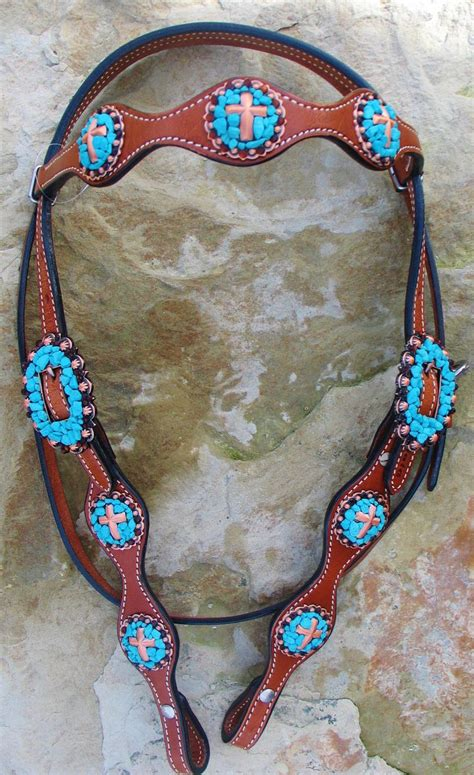 custom made breast collars & headstall with bling picture 6