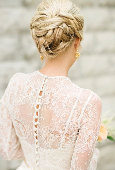 curly hair wedding updos picture 3