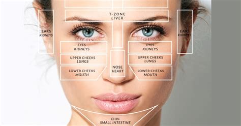acne forehead digestion picture 3