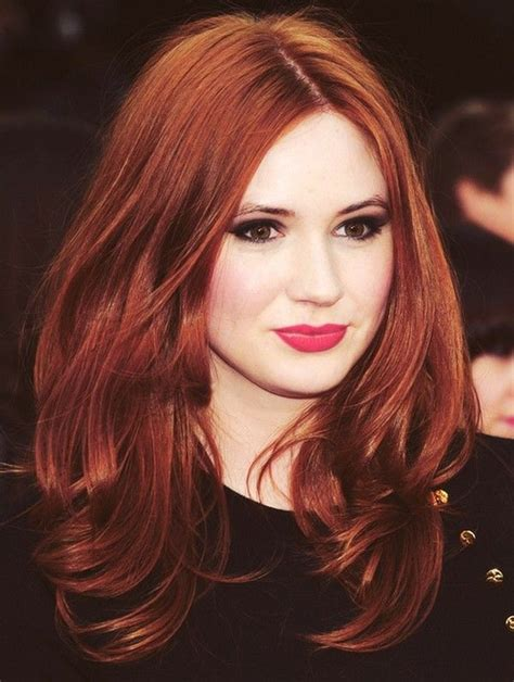 coloring red hair picture 14