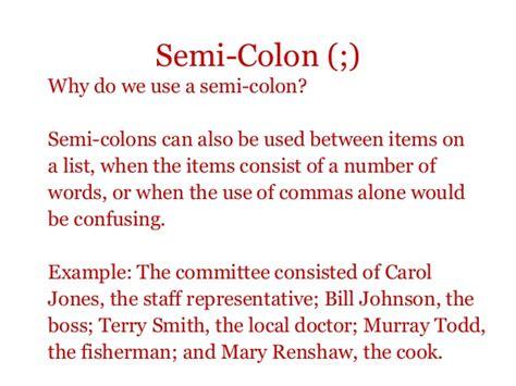 why use a semi colon picture 7