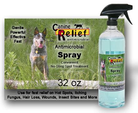 relief antimicrobial spray picture 1