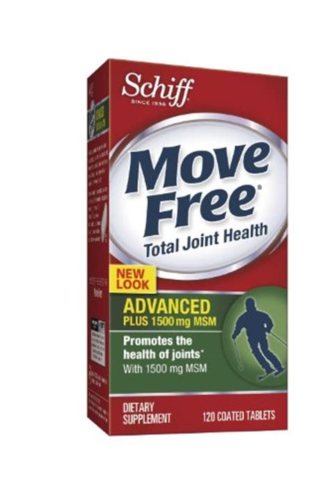 move free joint health, glucosamine chondroitin advanced plus picture 1