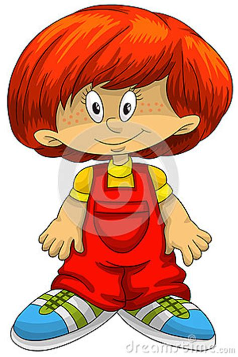 red hair cartoon boys picture 11