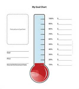 weight loss thermometer chart template picture 9