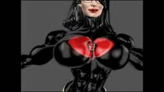 female muscle growth animation picture 7