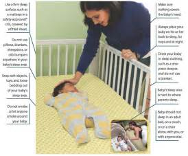 do not sleep with infant in same bed picture 15