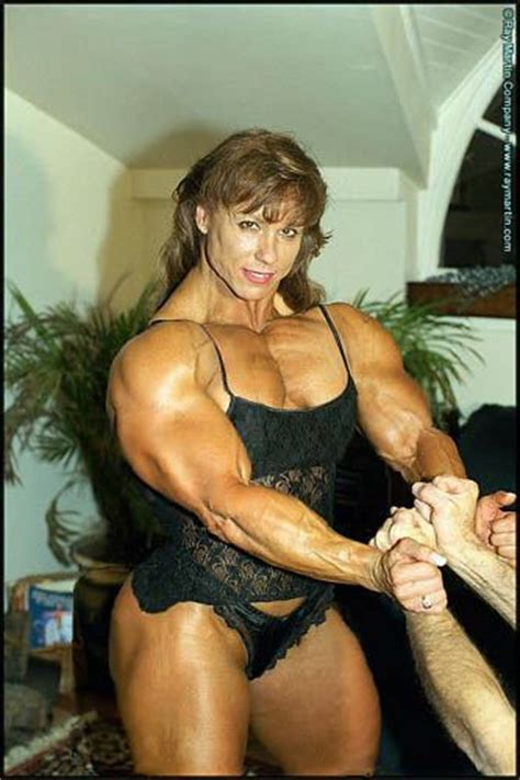 is a female bodybuilder more muscular then colette picture 14