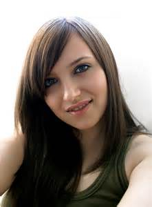 brown hair girl picture 3
