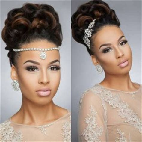 bridal hairstyles for black hair picture 6