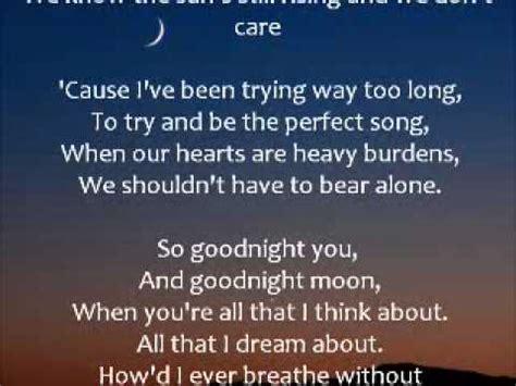 go to sleep and goodnight lyrics picture 2