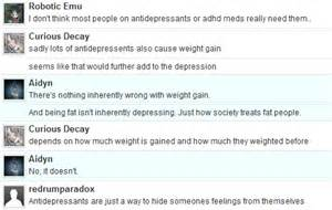 anti-depressants that don't cause weight gain picture 1