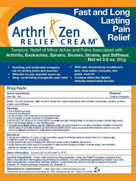 arthri pain relief cream northstar picture 1