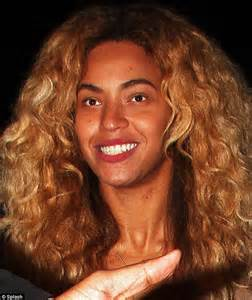 beyonce's real hair picture 6