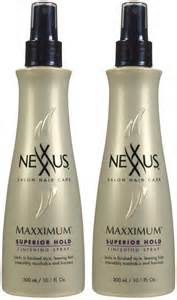 nexxus maximum hair spray picture 1