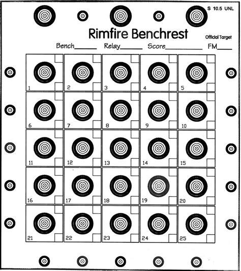 ibs 50 yard rimfire target picture 10