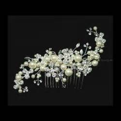 bridal hair comb picture 5