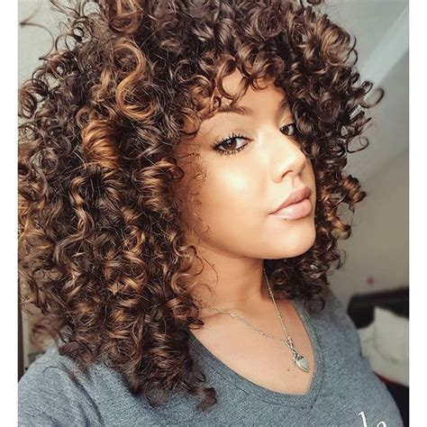 curly hair highlights picture 2