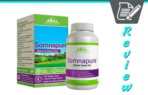 somnapure natural sleep aid side effects picture 5