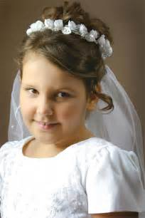 hairstyles for communion short hair picture 5