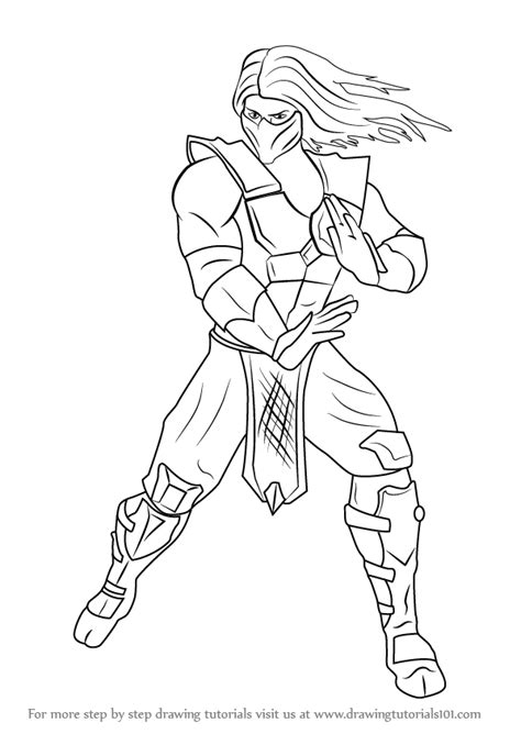 mortal kombat what is color is smoke's hair picture 6